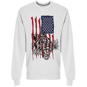 Bandeira Americana, Tiger Sweatshirt Men's -Imagem por Shutterstock