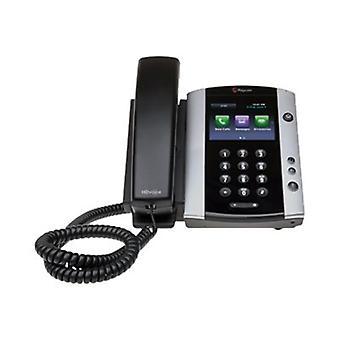 Polycom Vvx 501 Desktop Phone Skype Lync Poe