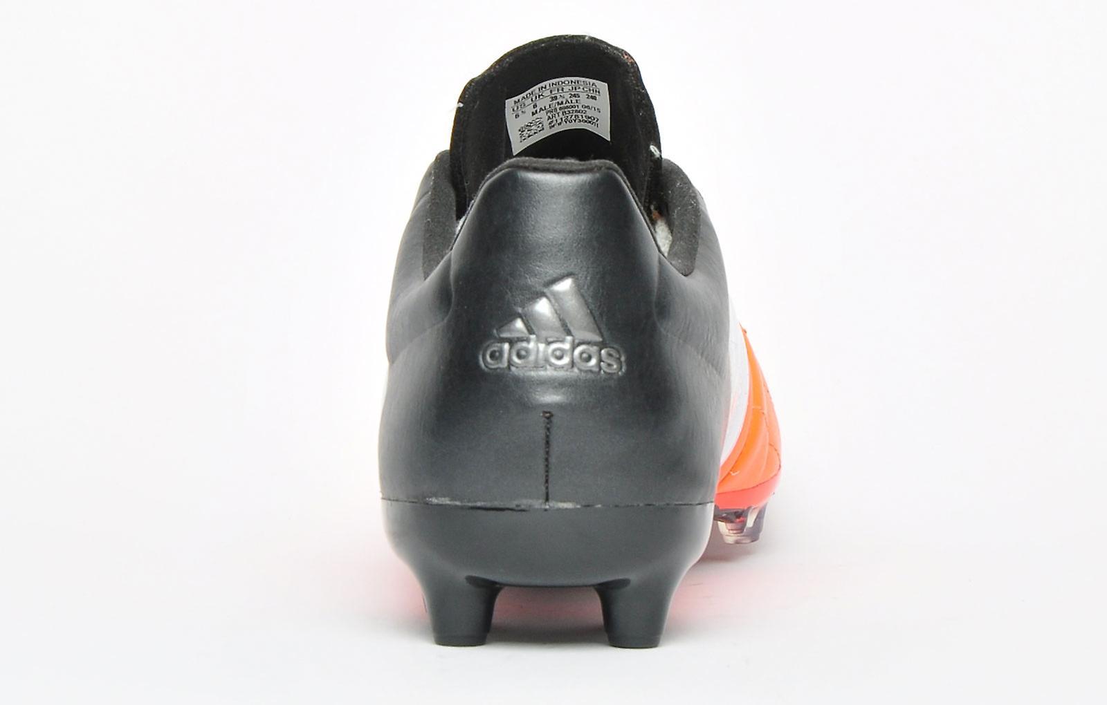 Adidas Ace 15.2 FG / AG Leather Pro Solar Orange / White / Black