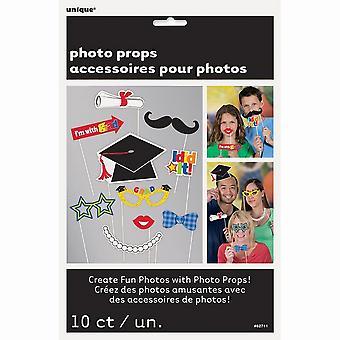 Unique Party Graduation Photo Booth Props