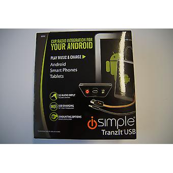 iSimple IS32 TranzIt USB car radio integration for Android phones and tablets