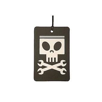 Jolly Roger Piston Skull Car Air Freshener