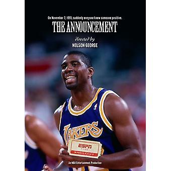 Announcement [DVD] USA import