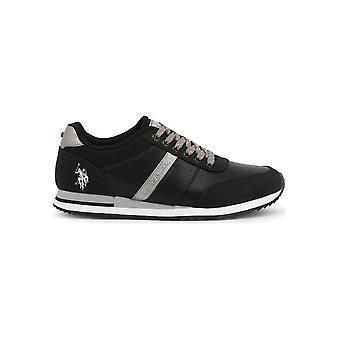 U.S. Polo Assn. - Schoenen - Sneakers - XIRIO4121S0_YM1_BLK - Mannen - zwart,grijs - EU 40