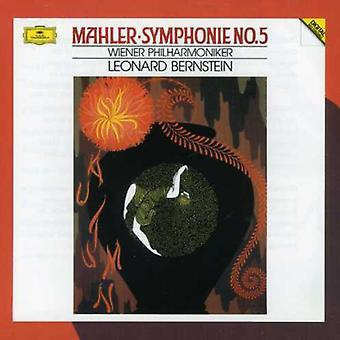Bernstein/Vienna Philharmonic Orch. - Mahler: Symphonie No. 5 [CD] USA import