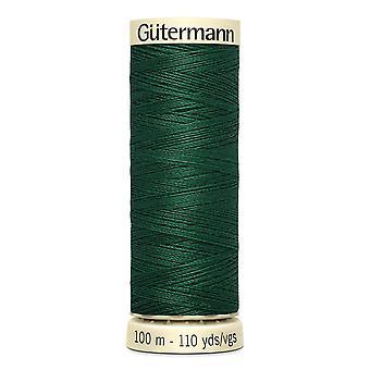 Gutermann sy-alle 100% polyestertråd 100m Hånd- og maskinfarvekode - 340