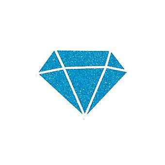 """אלדין איזינק יהלום נצנצים צבע קאריבי כחול 80 מ""""ל."""