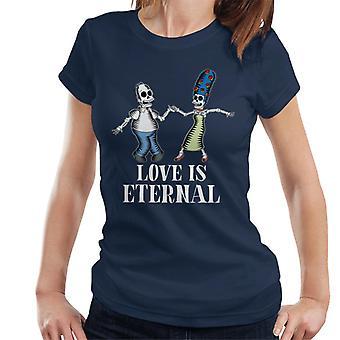 The Simpsons kærlighed er evig Homer & Marge Halloween kvinder ' s T-shirt