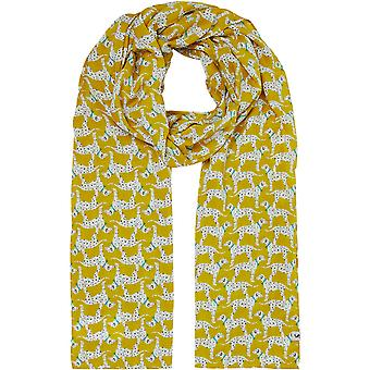 Joules Womens Conway Woven Printed Rectangle Scarf