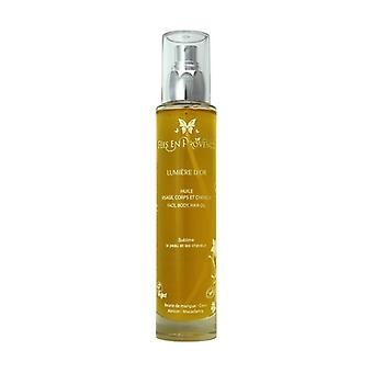 Lumière d'Or Face and hair oil 100 ml