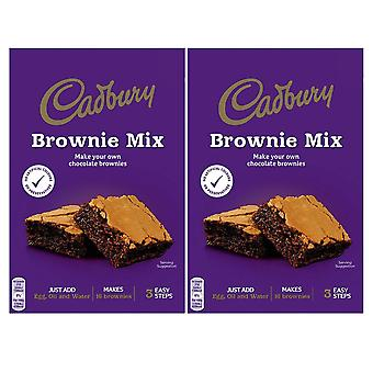 2 x 350g Brownie Mix Dough Vegetarian Chocolate Biscuit Baking Cooking