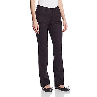 Dickies kvinnor ' s Curvy raka ben Stretch Twill byxa, svart, 6 Short