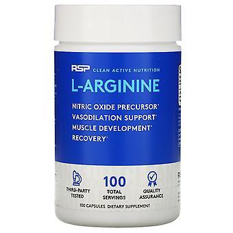 RSP Nutrition, L-Arginine, 100 Capsules