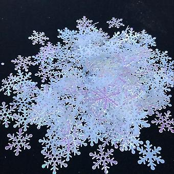 200/300pcs Artificial Snowflakes Décor Frozen Party Xmas Décorations pour la maison,
