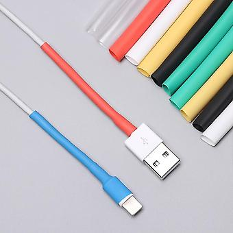 12pcs Usb Charger Cord Wire Organizer Heat Shrink Tube Sleeve Cable Protector Saver Cover For Ipad Iphone 5 6 7 8 X X R Xs