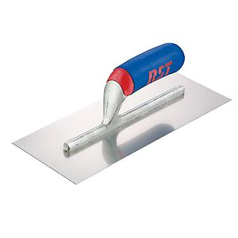 R.S.T. Plasterers Finishing Trowel Banana Soft Touch Handle 11x4.1/2in RST124BST