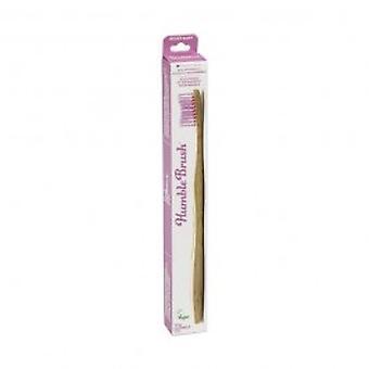 Humble Brush - Toothbrush - Adult Soft Purple Single