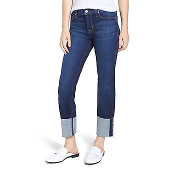 Hudson | Deep Cuff Cropped Jeans