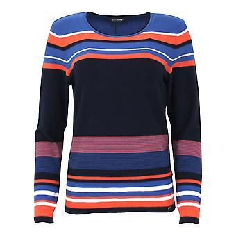 GOLLEHAUG Gollehaug Blue And Orange Sweater 2021 11011