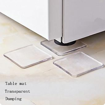 4 Pcs Machine à laver Réfrigérateur Chaise Coussin Shock Proof Pad Meubles