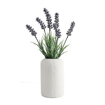 Simple Modern Ceramic Vase Decoration for Home (Large-White)