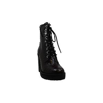 ستيف مادن المرأة & ق الأحذية ليزالوف الجلود أغلقت أحذية أزياء الكاحل