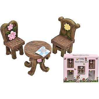 Toyland® 5 ks Rozprávkový čaj Čas Set s príslušenstvom - Dolls House Nábytok
