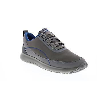 Camper Canica Mens Gris Nylon Lace Up Euro Sneakers Chaussures