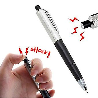 Gag Elektrische Shock Pen Ball Point Praktische Promotie Fancy Joke Trick