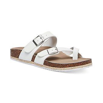 Madden tyttö naisten Betty nahka avoin toe rento Slide sandaalit