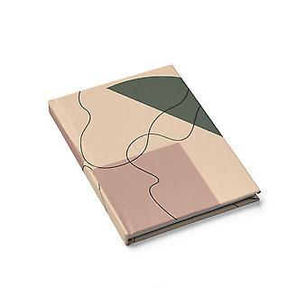 Journal blanc sophistiqué