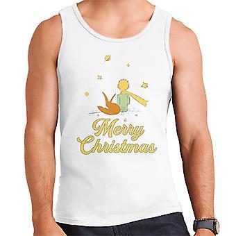 The Little Prince Christmas Observing The Stars Men's Vest