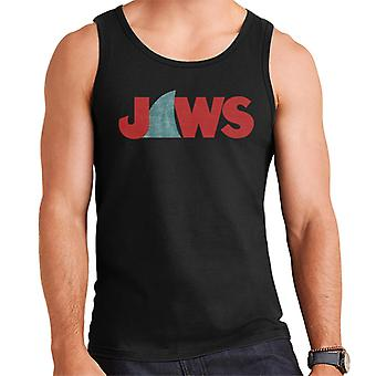 Jaws Shark Fin Logo Men's Vest