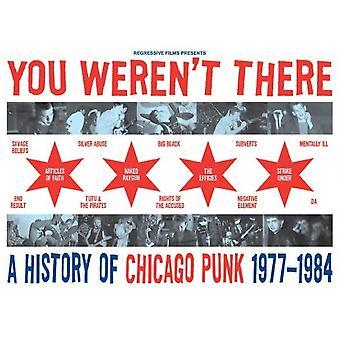 Vous n'étiez pas il y A l'histoire de Chicago Punk 1977 à l'affiche du film 1984 (11 x 17)