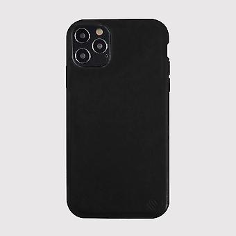 Eco Friendly Leather Black iPhone 12 Pro Case