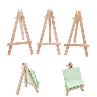 Wooden Mini Artist, Easel Wood Table, Card Stand, Display Holder