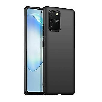 Samsung Galaxy S10 Lite - Matt TPU Soft Shell - Sort