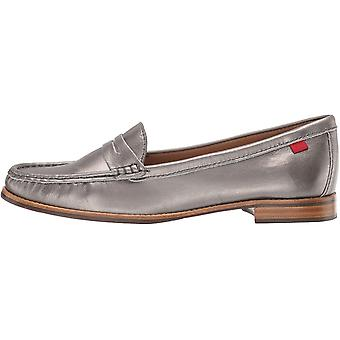 Marc Joseph New York Womens 24755-PATCH Leather Closed Toe Loafers