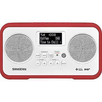 Sangean TRAVELLER 770 Desk radio DAB+, DAB, FM DAB+, FM Keylock Red
