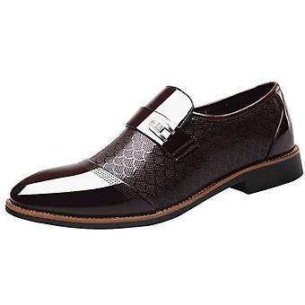 Fashion Business Dress Classic Leather Men's Suits Shoes