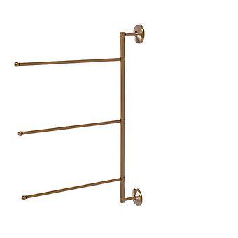 Prestige Monte Carlo Kollektion 3 Schwenkarm vertikal 28 Zoll Handtuch bar - Pmc-27/3/16/28-Bbr