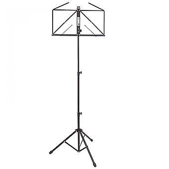 Kinsman ops55bk deluxe składany stojak muzyczny - czarny