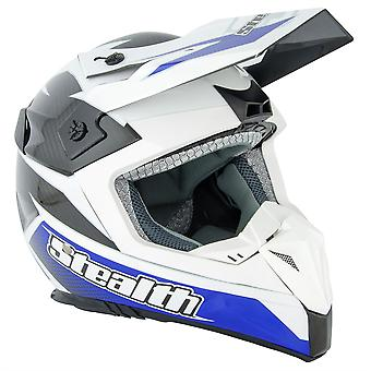 Stealth HD210 GP Replica Adult MX Helmet - Blue