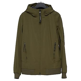 C. P. Company C.p. Company | 09mow042a Lightweight Soft Shell Lens Hood Jacket - Khaki