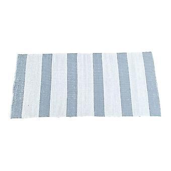 Spura Home käännettävä sininen raidallinen nykyaikainen juoksijamatto 2,5x6