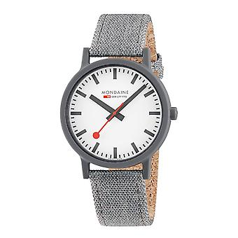 Mondaine SBB Essence Grey Armbanduhr (MS1.41110.LU)