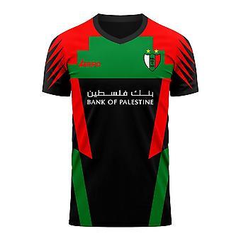 Palestino 2020-2021 Away Concept Football Kit (Libero)
