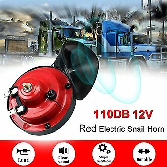 New Electric Car Horn 12v Loud Monophonic Snail Super Train For Trucks Suv Boat