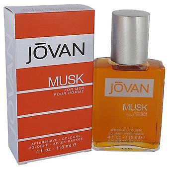 Jovan Musk dopo barba / Colonia da Jovan 4 oz After Shave / Colonia