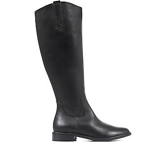 Regarde Le Ciel Womens Ride 01 Leather Knee High Boots
